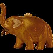 Vintage Celluloid Elephant Tape Measure