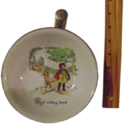 Vintage Little Red Riding Hood Warmer Feeding Bowl