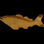 Vintage Celluloid Fish Tape Measure