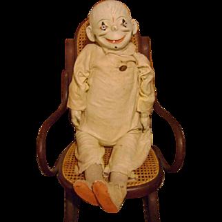 Vintage 30 inch Clown Doll
