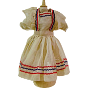 Vintage Doll Pinafore and Blouse