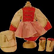 Vintage Majorette Doll Outfit