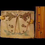 Vintage Gun and Holster Diaper Pins