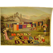 Handy Package Dyes Paper Sign