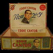 Vintage Eddie Cantor Cigar Box
