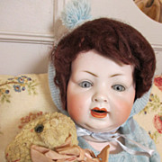 Antique LW&C Bisque Head Baby Doll - Red Tag Sale Item