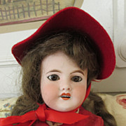 French Bisque Head Doll - Mon Cheri - Sweet look