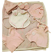 Vintage Tiny Tears and Dye Dee Baby Clothes - Nice Assortment
