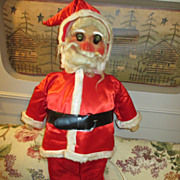 Vintage Santa From 1920's with Electrified Eyes