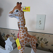 Steiff Giraffe with All Tags and Button