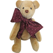 Sweet Artist Teddy Bear for Your Antique Doll