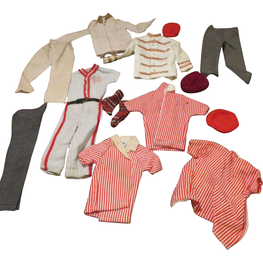 Vintage Mattel Ken Doll Clothing Nice Assortment From