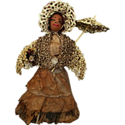 Unique Vintage Nut Head Doll