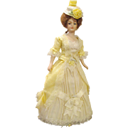 Wonderful Doll House Doll in Extravagant Dress