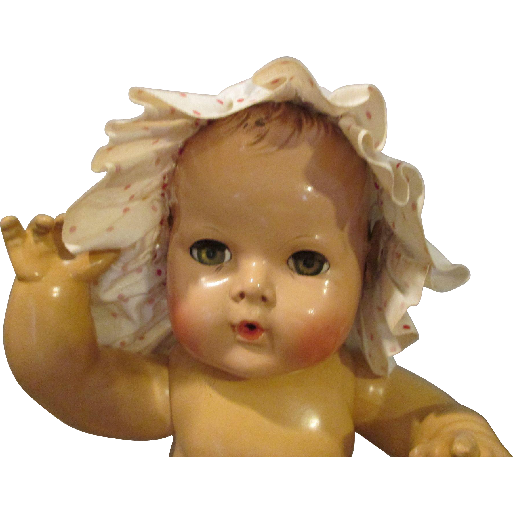 Vintage Sun Bonnet for Your Vintage Baby Doll