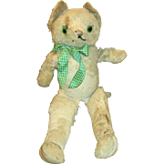 Vintage Stuffed Mohair Kitty