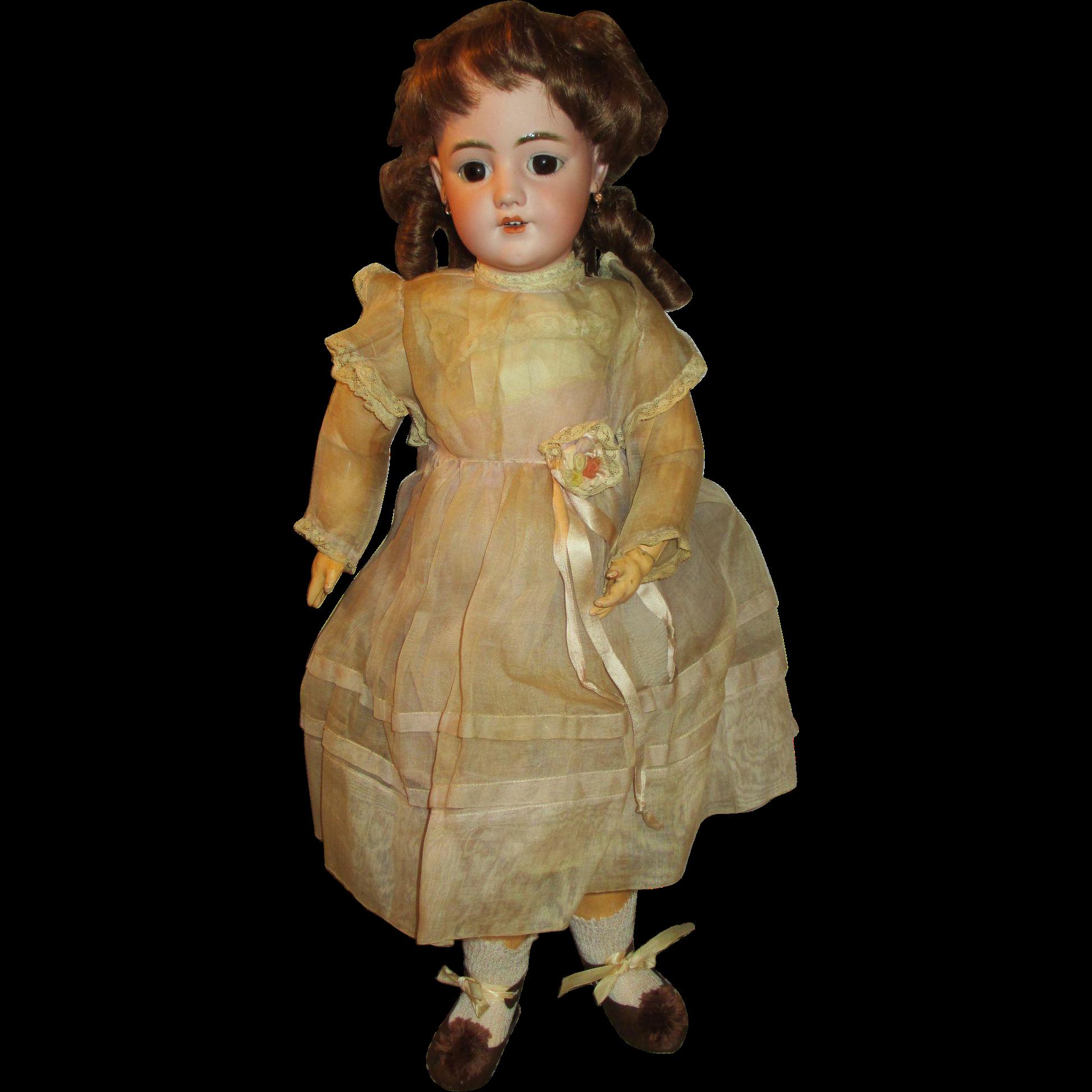 Antique Simon Halbig DEP 1249 Santa Doll
