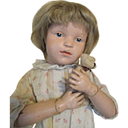 Adorable Schoenhut Doll Ready to Display