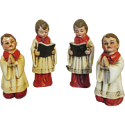 Set of 4 Vintage German Alter Boy Dolls