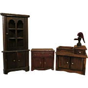 Primitive Style Doll House Furniture