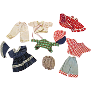 Assortment of Vintage Ginny Doll Clothes