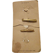 Antique Bar or Collar Pins for Your Antique Dolls