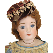 Antique French Fashion Bonnet
