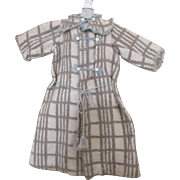Antique Eiderdown Coat for Your Large Antique Doll