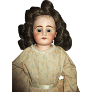 Antique Bisque Shoulder Head Mystery Doll