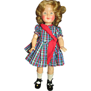 Vintage 1950's Shirley Temple Doll in Sweet Outfit