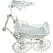 Miniature Doll House Doll Carriage