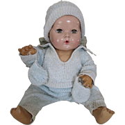 """Vintage 4 Piece Wool Winter Outfit for your 14"""" Dy Dee Baby"""