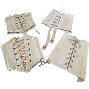 Antique Doll Corsets for your French Fashion, Bru, or Jumeau