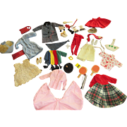 Large Group of Vintage Tammy Doll Clothes and Accessories - Red Tag Sale Item