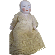 Adorable All Bisque Baby Doll