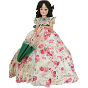"Lovely 21"" Madame Alexander Scarlett Doll #2255 - Made for Only 1 year - Jacqueline Face Doll"