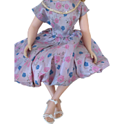 Very Pretty Vintage Doll Dress for Your Cissy Doll