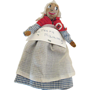 Vintage Nut Head Mammy Doll