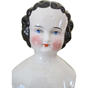 "Pretty 18"" China Head Doll - Sweet Face"