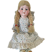 Antique Bisque Head Baby Betty Doll