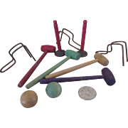 Doll Sized Croquet Set