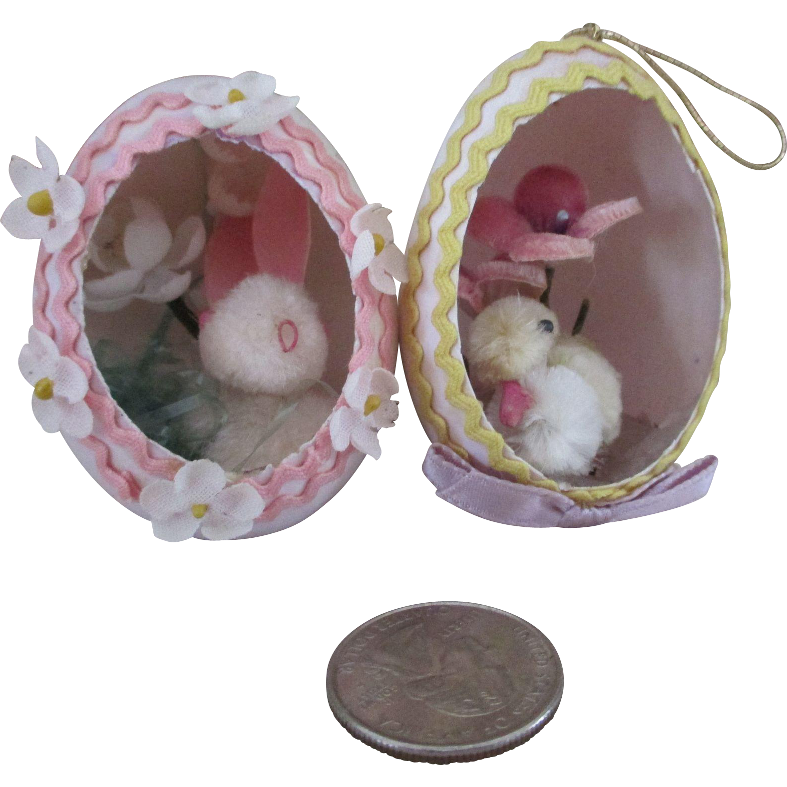 Blown Easter Eggs for Your Antique Dolls