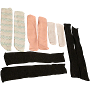 Assortment Of Vintage Doll Stockings
