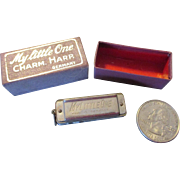 Miniature Toy Harmonica for Your Doll - Great Prop