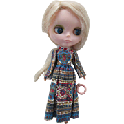 "Rare Vintage Blythe Doll in Original Dress and Panties - 1972 11"" Kenner Blythe Doll"