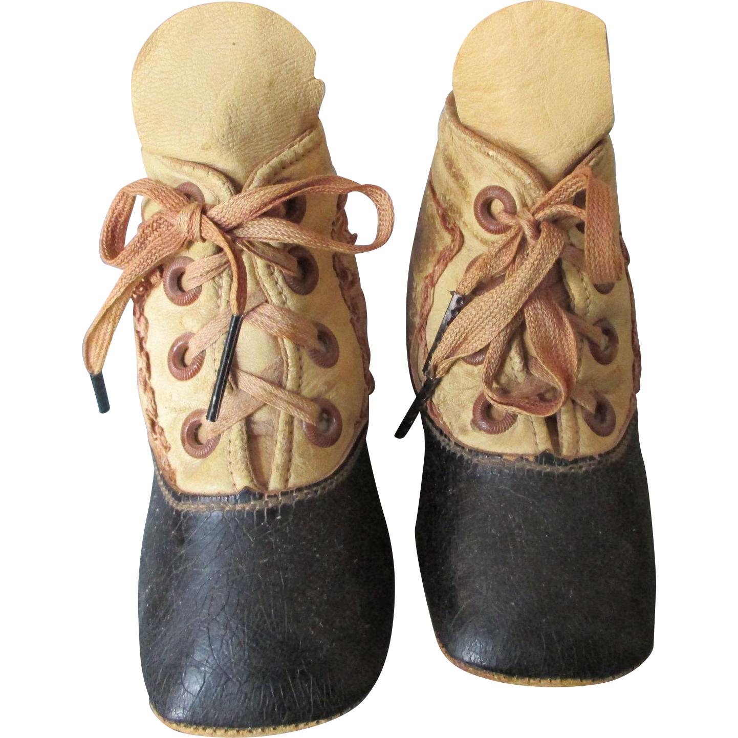 Antique Leather Shoes for your Large Antique Doll