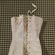 Pink Silk Doll Corset for your Bru, Jumeau or French Fashion - Red Tag Sale Item
