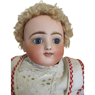 Antique Steiner Bebe Gigoteur Bebe - Kicking Screaming Baby Doll