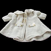 Vintage Wool Blend Doll Coat