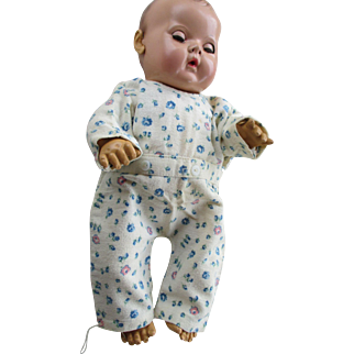 Vintage Flannel Pajamas for your Dy-Dee Baby